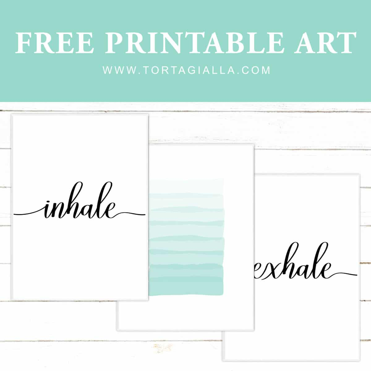 Set of inhale exhale printables for free download.