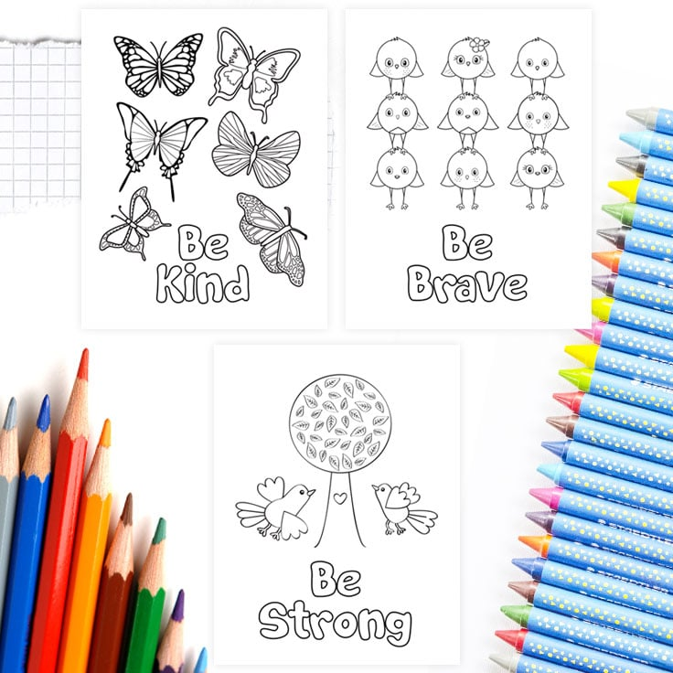 Free printable coloring pages to download.