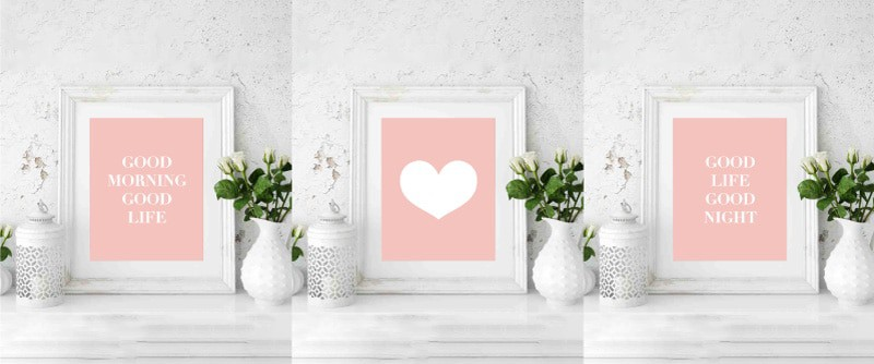 Looking for some inspiration and motivation for your walls? Download this set of free printable wall art quotes to decorate and inspire at the same time! #freeprintable #printable #wallart