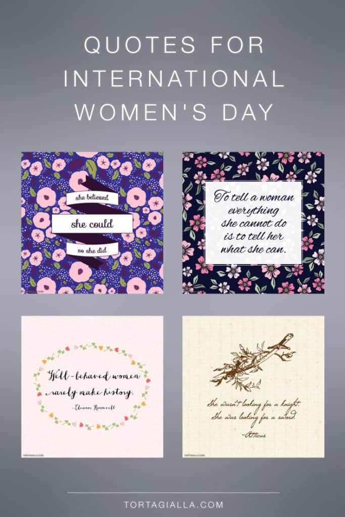 Quotes for International Women's Day - Free Downloads