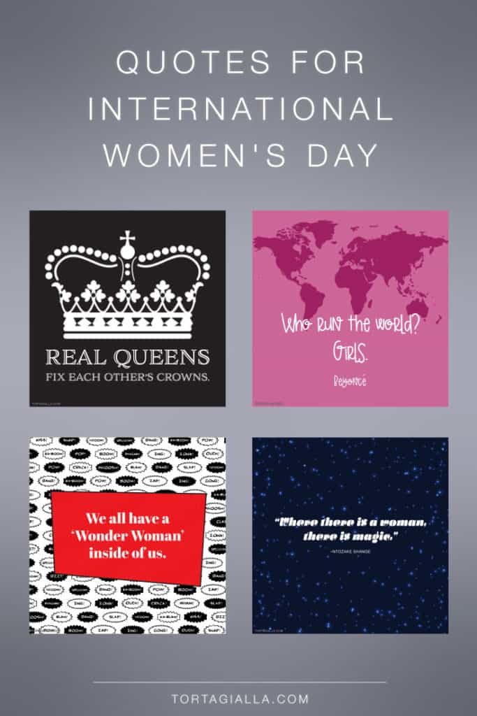 Free downloadable quotes for international women's day
