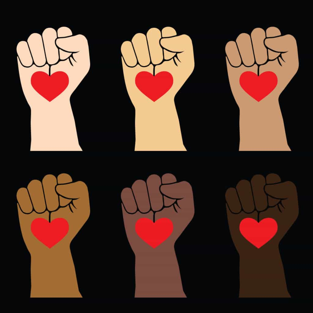 FREE DOWNLOAD: Posters for Activism in Multiple Skin Tones