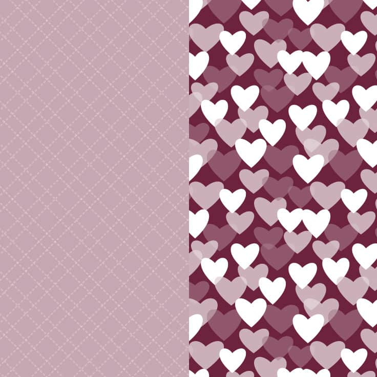 Download your free printable valentine scrapbook papers here.