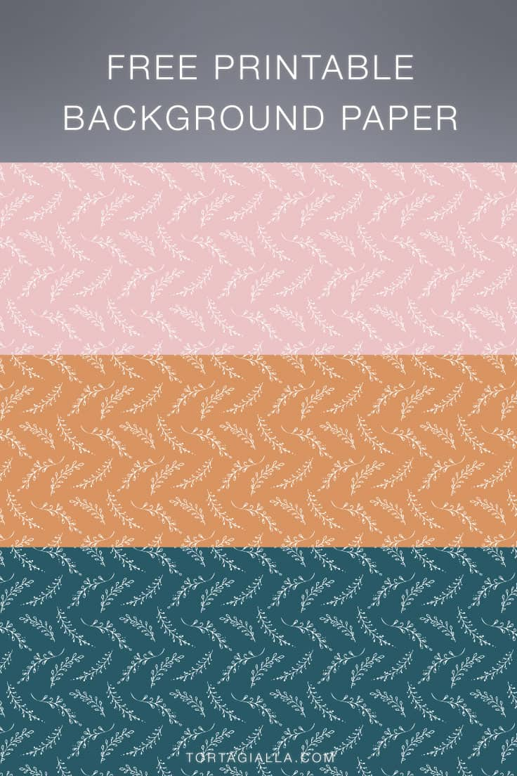 Download these free printable background paper designs for all your papercrafting projects, from scrapbooking to cardmaking and journaling!