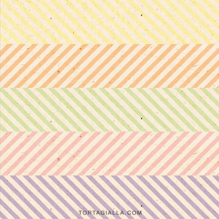 Get these free pastel digital papers with a kraft texture by downloading from tortagialla.com - great for scrapbooking, art journaling, planners and more papercrafting!