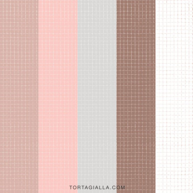 Check out these free printable grid paper downloads for journaling and planner decor, with multiple aesthetic neutral colors to choose from!