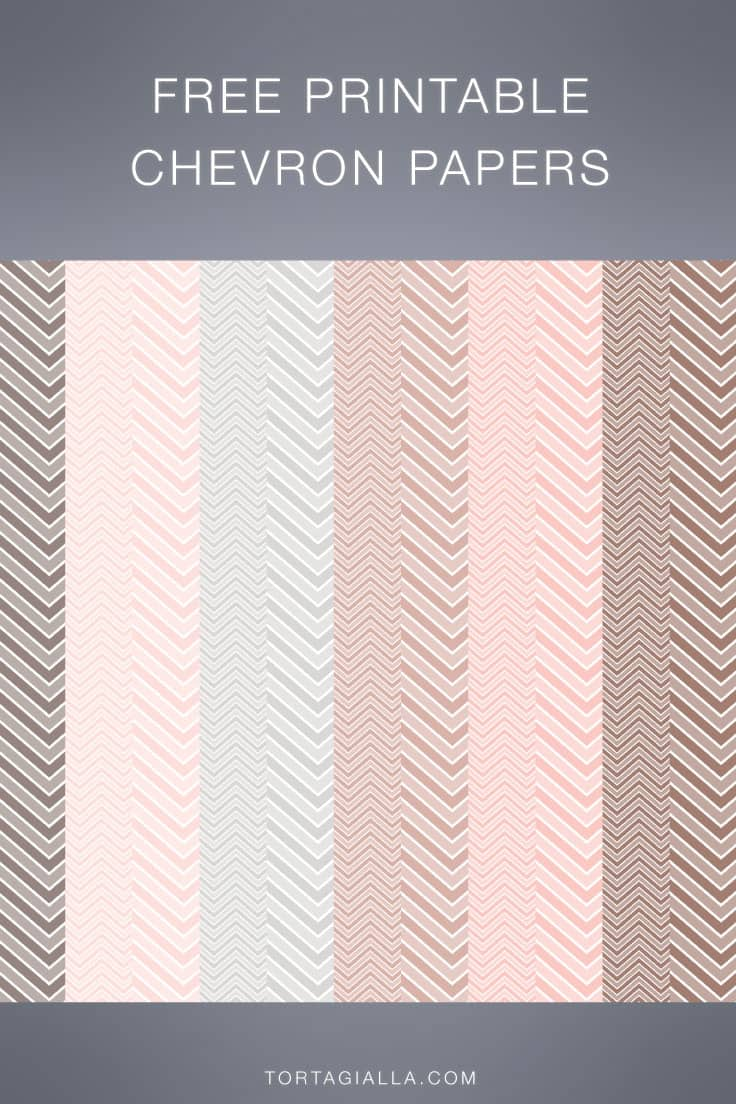 Download this neutral set of printable chevron papers on tortagialla.com for free.